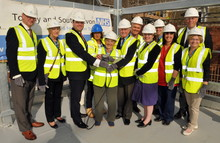 TOPPING OUT!